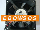 Delta 8025 AFB0812L 12V 0.12A 2Wire Cooling Fan - ebowsos