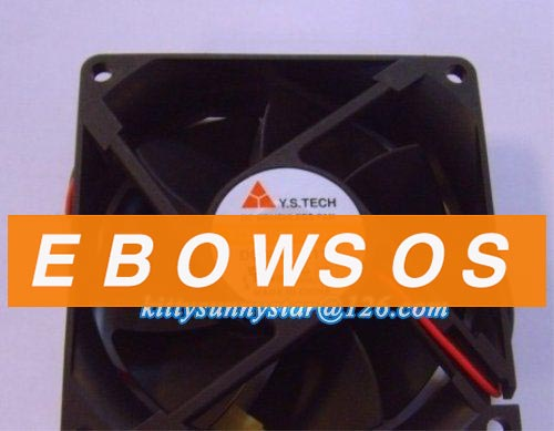 Y.S.TECH 8025 FD488025EB-N 48V 0.11A Server Fan,Cooling Fan - ebowsos
