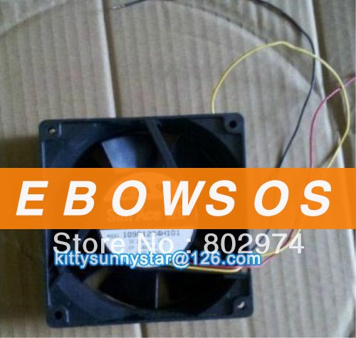 SANYO 12038 109P1224H101 24V 0.25A 3Wire Cooling Fan - ebowsos