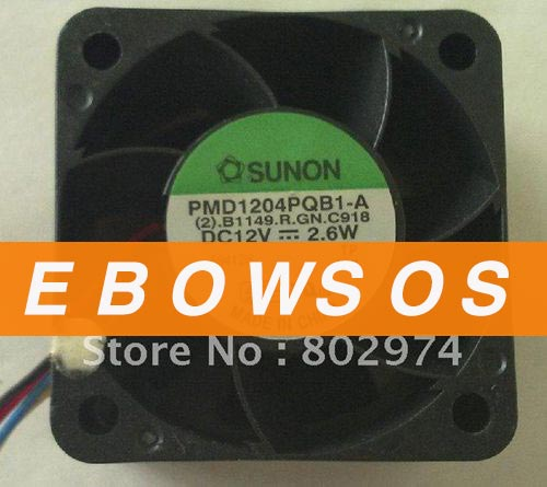SUNON 4028 PMD1204PQB1-A 12V 2.6W Cooling Fan - ebowsos