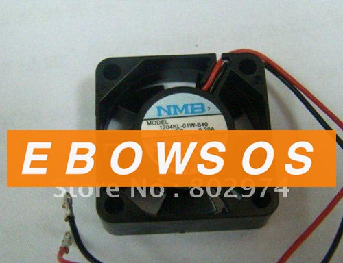 New Original NMB 3010 1204KL-01W-B40 5V 0.2A 2wire Cooling Fan - ebowsos