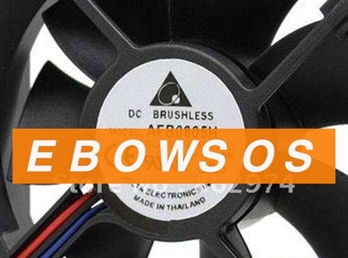 Delta 8025 AFB0805H 5V 0.65A 3Wir DC Brushless Fan,Cooling Fan - ebowsos
