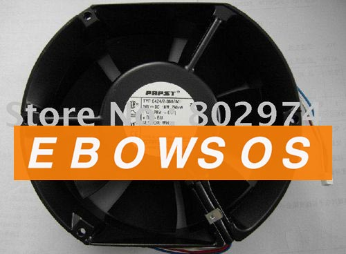Free shipping New Original PAPST TYP6424/2-388/A01 24V 18W AC Cooling Fan - ebowsos