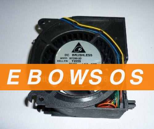 Delta 12038 BFC0812D 12V 1.82A For DELL P/N:T2225 Server Fan,DC Blower Fan,Cooling Fan - ebowsos