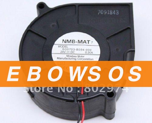 NMB 7530 BG0703-B054-000 24V 0.2A Blower Fan,Cooling Fan - ebowsos