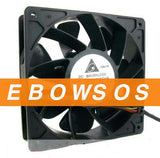Delta 12038 QFR1212GHE 12V 2.7A 4Wire Server Fan,Boost Car Fan,Violence Fan - ebowsos