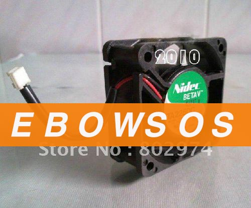 NIDEC 6025 M33515-55 12V 0.33A 2wire Cooling Fan - ebowsos