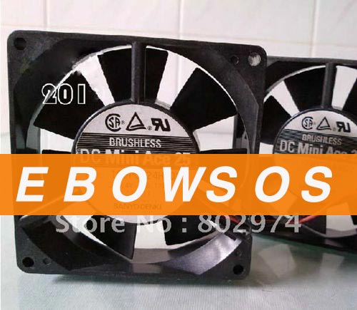 SANYO 9225 109P0924H402 24V 0.12A Cooling Fan - ebowsos