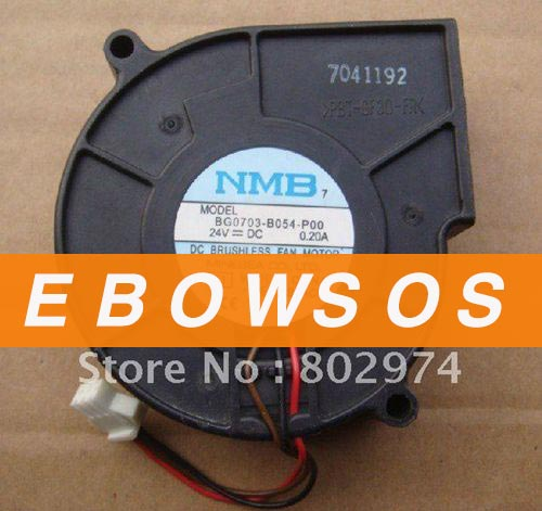 NMB 7530 BG0703-B054-P00 24V 0.2A Blower Fan,Cooling Fan - ebowsos
