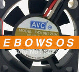 AVC 4010 F4010B12HH 12V 0.12A 3Wire Ball Bearing Fan,Server Fan,Cooling Fan - ebowsos