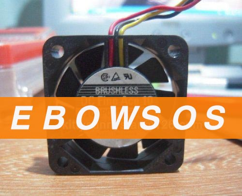 SANYO 4010 109P0412H901 12V 0.07A 3Wire Cooling Fan - ebowsos