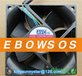 AVC 8025 DS08025R12UP048 12V 0.35A Hydraulic Bearing Fan,Server Fan,Cooling Fan - ebowsos