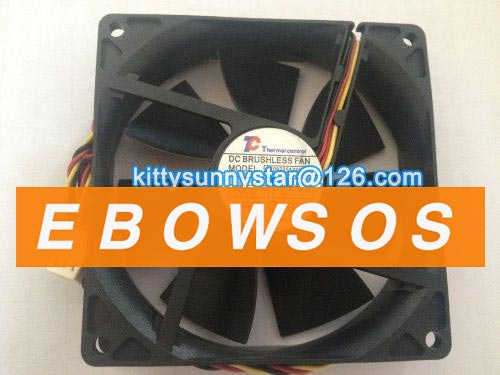 TC 9225 DF0922512SEMN 12V 0.22A 2.64W 3Wire Case Fan,Cooling Fan - ebowsos