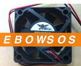 5015S EFS-05C12L 12V 0.12A 2Wire Cooling Fan - ebowsos
