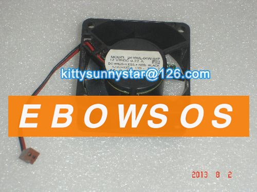 NMB 6025 2410ML-04W-B47 12V 0.22A 2Wire Cooling Fan - ebowsos