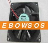 NIDEC 9025 D09T-12PH 12V 0.17A 2Wire Cooling Fan - ebowsos