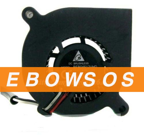 Delta 4520 BFB04512VHD 12V 0.24A 3Wire Cooling Fan - ebowsos