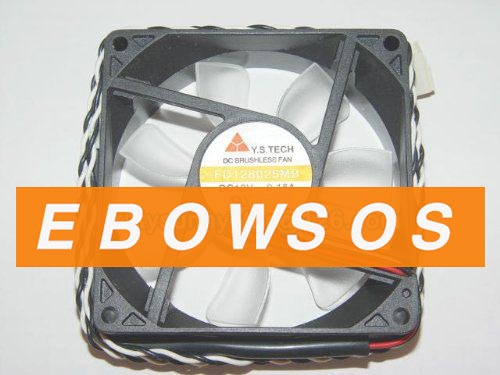 Y.S.TECH 8025 FD128025MB 12V 0.16A Power Fan,Cooling Fan - ebowsos