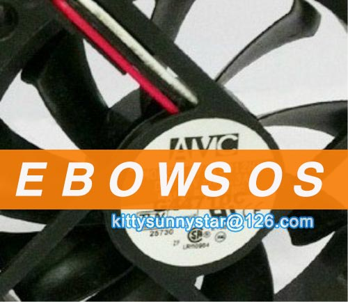 AVC 7015 C7015B12HY 12V 0.3A 3Wire Cooling Fan - ebowsos