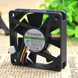 For original Taiwan Jianjun SUNON KDE2406PHV3-A 6015 24V 0.7W inverter cooling fan - ebowsos