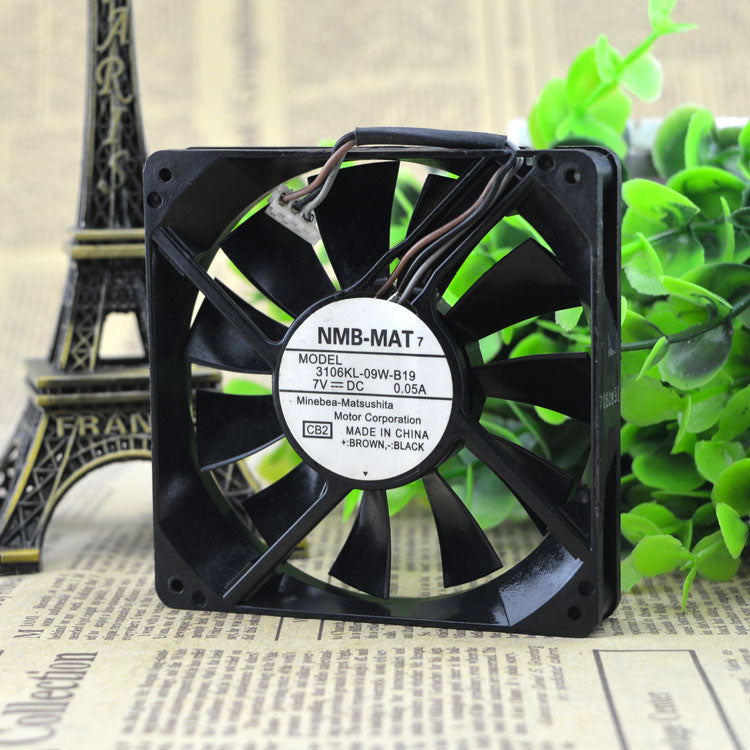 For original NMB 2206ML-09W-S19 7V 0.05A 5.7CM 57*52MM silent USB fan - ebowsos