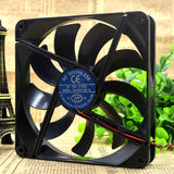 For TP 14CM 14025 12V 0.30A B1402512M A Chassis Mute Cooling Fan - ebowsos