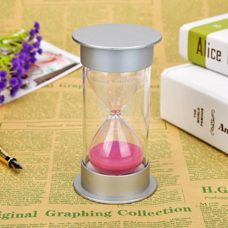 30minutes Simple Hourglass Sandglass Sand Clock Timers Kids Toys Ornament Beautiful And High Quality Hourglasses - ebowsos
