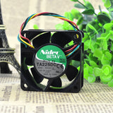 For NIDEC 6025 12V 0.22A 6CM/cm B35200-35 4-pin PWM speed control chassis fan - ebowsos