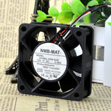 For Genuine NMB-MAT 2408NL-04W-B29 12V 0.09A 6020 6CM 3-wire fan - ebowsos