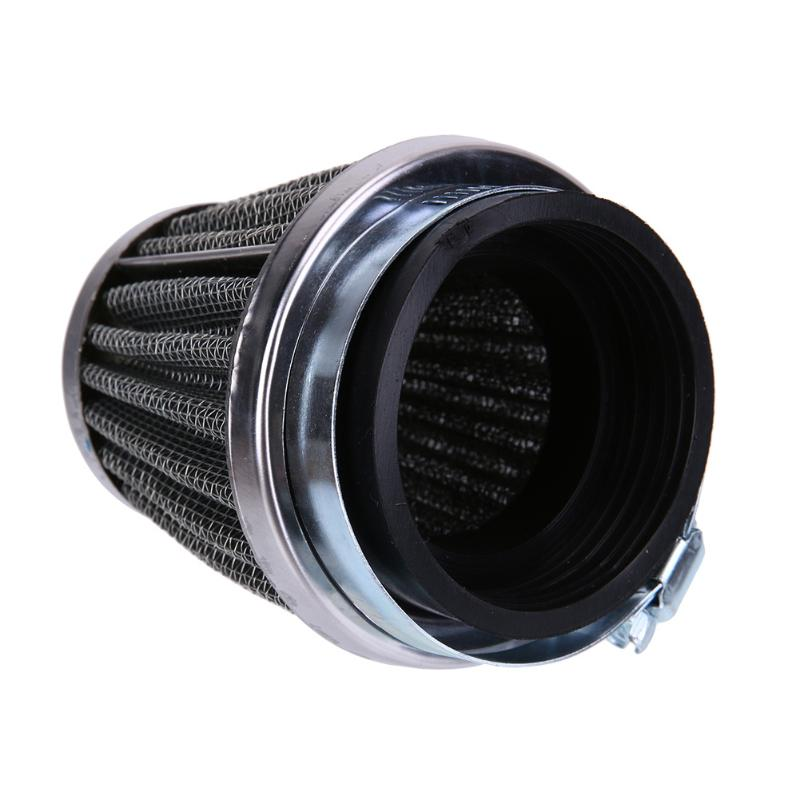 "44mm/1.73"" 2 Layer Steel Net Filter Gauze Motorcycle Clamp-on Air Filter - ebowsos"