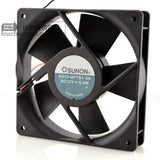 For original SUNON built KD1212PTS1-6A 12V 5.4W 12CM 12025 two-line high speed fan - ebowsos