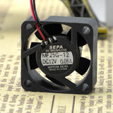 For new original packaging SEPA 2510 MF25G-12 12V 0.05A micro device cooling fan - ebowsos