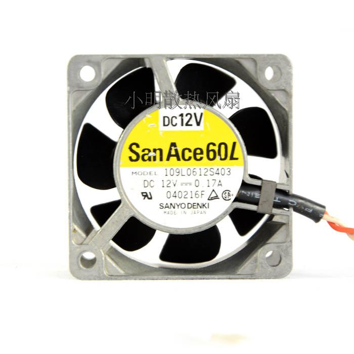 For original mountain ocean 6CM 109L0612S403 6025 12V 0.17A aluminum frame long life fan - ebowsos