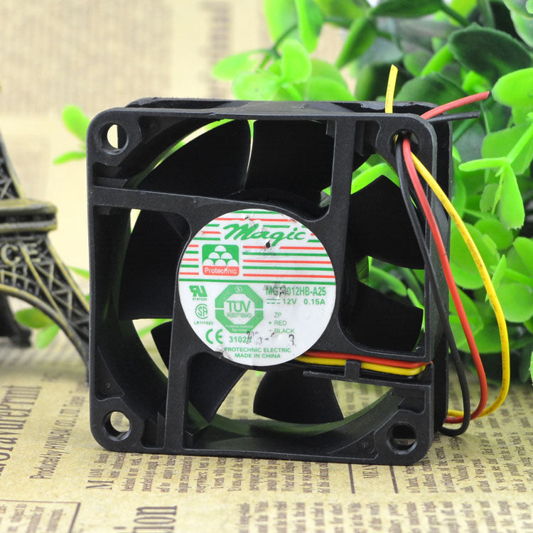 For original Yongli 6025 12V 0.17A MGT6012HB-A25 cooling fan quality assurance - ebowsos