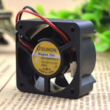 For 4020 original Jianjun SUNON cooling fan GM1204PKV2-A 12V 0.7W ultra quiet 2 line - ebowsos