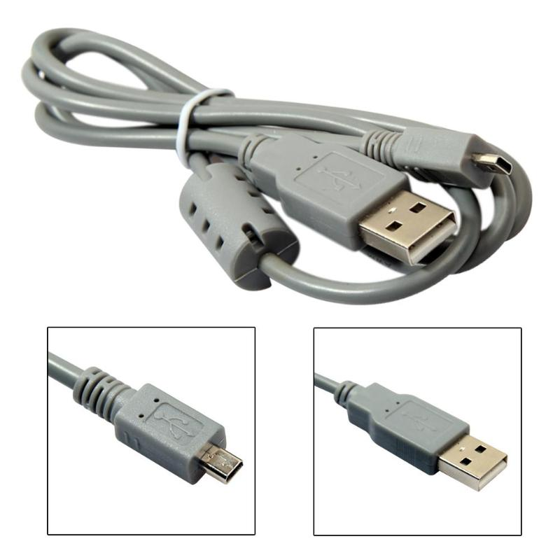 5pcs/ Lot 2pcs/ Lot USB 8 Pin Data SYNC Cable Cord for Nikon for Sony  Camera Cybershot 1M cable connects for digital camera