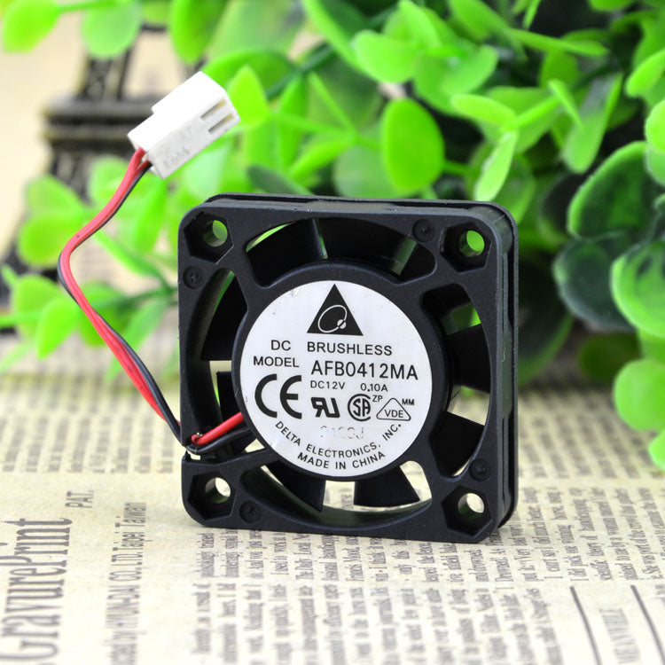For original genuine Delta AFB0412MA 4cm 4010 DC12V 0.10A silent cooling fan - ebowsos