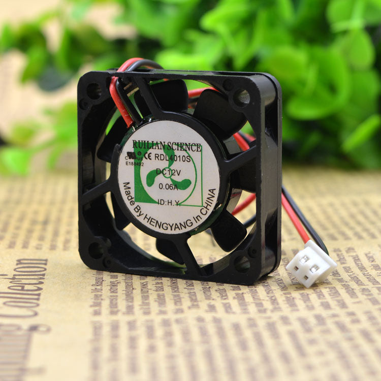 For New Xinrui United Fan RDL4010S 4010 12V SL 0.06A Silent Fan CPU Fan - ebowsos