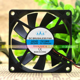For Genuine AAA HZHD 7015MS 24V 0.12A 7CM 7015 2-wire Ultra-quiet Cooling fan - ebowsos