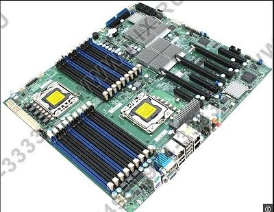 For Supermicro X8DAH+-F 1366 X58 PCI-E16X Motherboard - ebowsos
