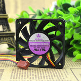 For original Berry BI-SONIC BS601012H B 12V 0.21A 6CM 6010 3-wire cooling fan - ebowsos