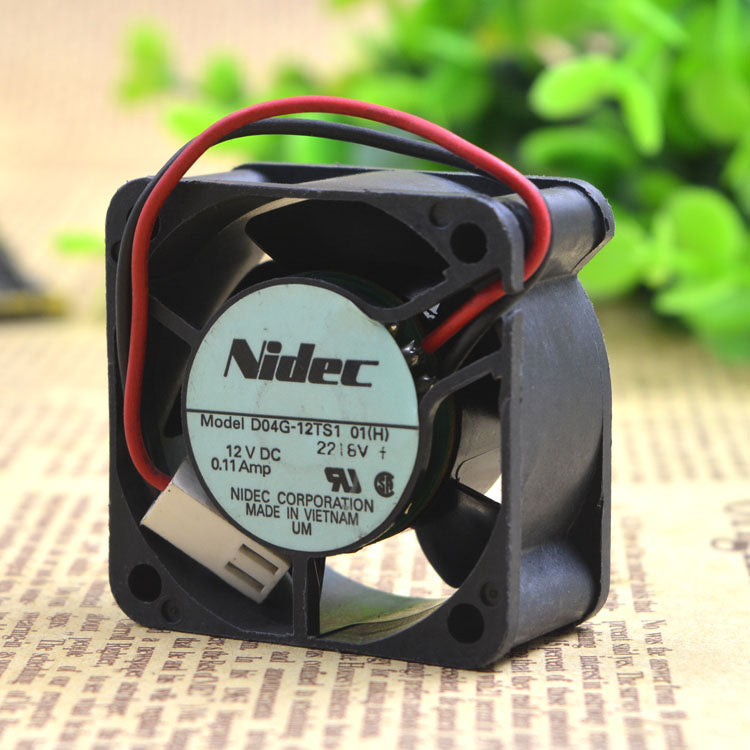 For new original electric production NIDEC inverter cooling fan D04G-12TS1 12V Nidic axial fan - ebowsos
