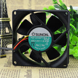 For Jianyuan SUNON 8025 8CM chassis power supply fan 12V 2.0W KD1208PTB2-6 - ebowsos