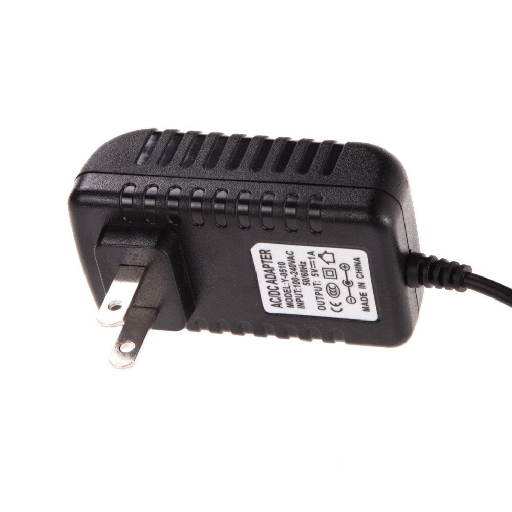 AC 100-240V Converter Adapter DC 5.5mm x 2.5MM 5V 1A 1000mA Charger US Plug - ebowsos