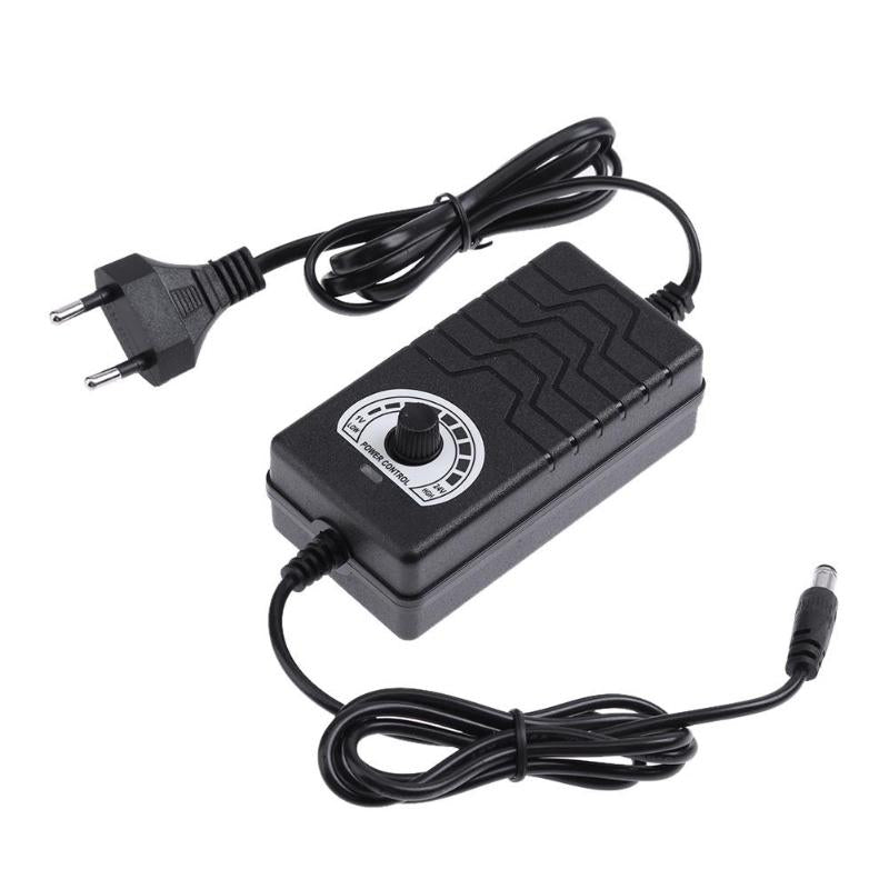 AC to DC Adapter 3-24V 2A Adjustable Power Supply Controller Adaptor for Light Temperature Motor Speed Control Switch - ebowsos