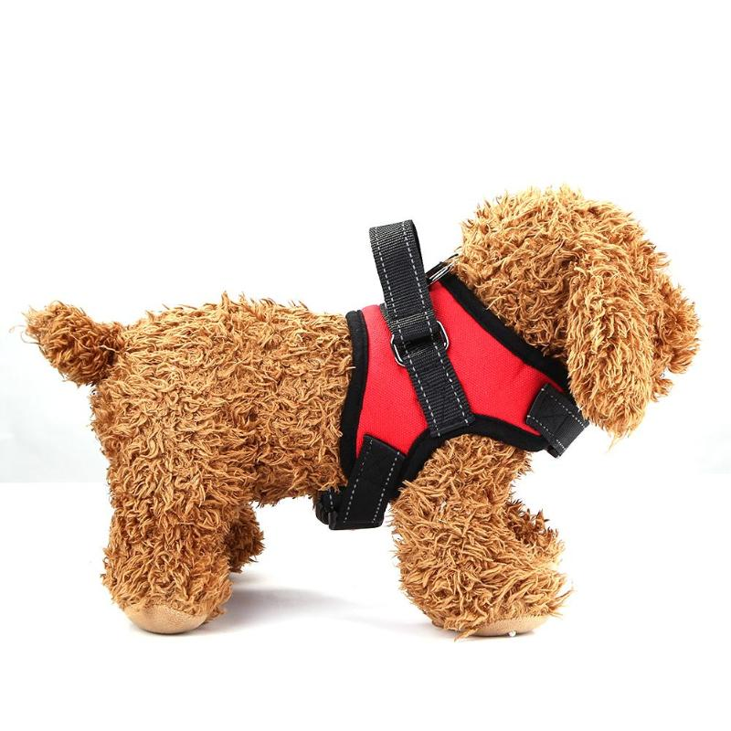 Adjustable Harness Vest Dogs Safe Puppy Pets Chest Strap Leash Puppy Accessories Necessary Household Pet Carrier Gadgets - ebowsos