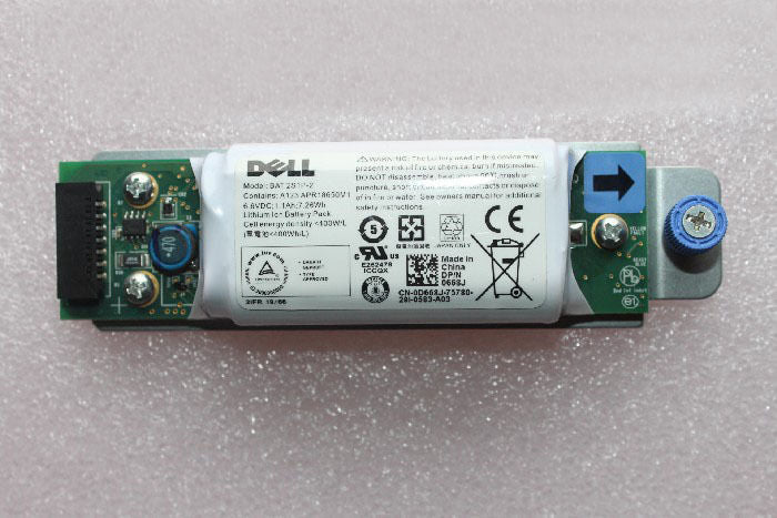 For Dell 0D668J Genuine BAT 2S1P-2 Battery Raid Controller PowerVault MD 3200i/3220i - ebowsos
