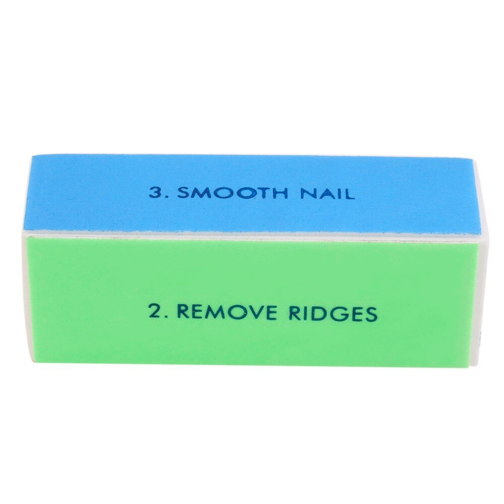 Buffer Buffing Sanding Files Women Girls Acrylic Pedicure Manicure Polish  Nail Buffer Buffing Block 4 Way File Salon - ebowsos