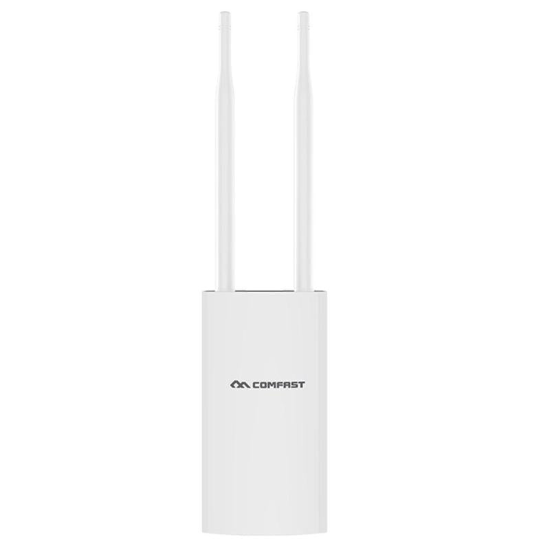 COMFAST CF-E5 300Mbps Portable 4G SIM Card Wireless AP WiFi Router IP66 Waterproof White With EU/US Plug 4G Wireless Router New - ebowsos