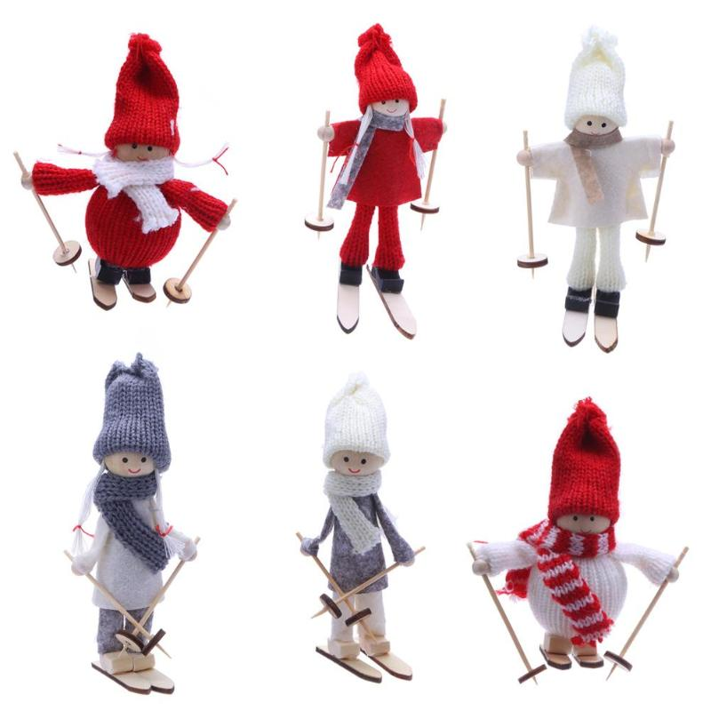 Christmas pendant christmas tree decoration cute doll party decoration kids gift